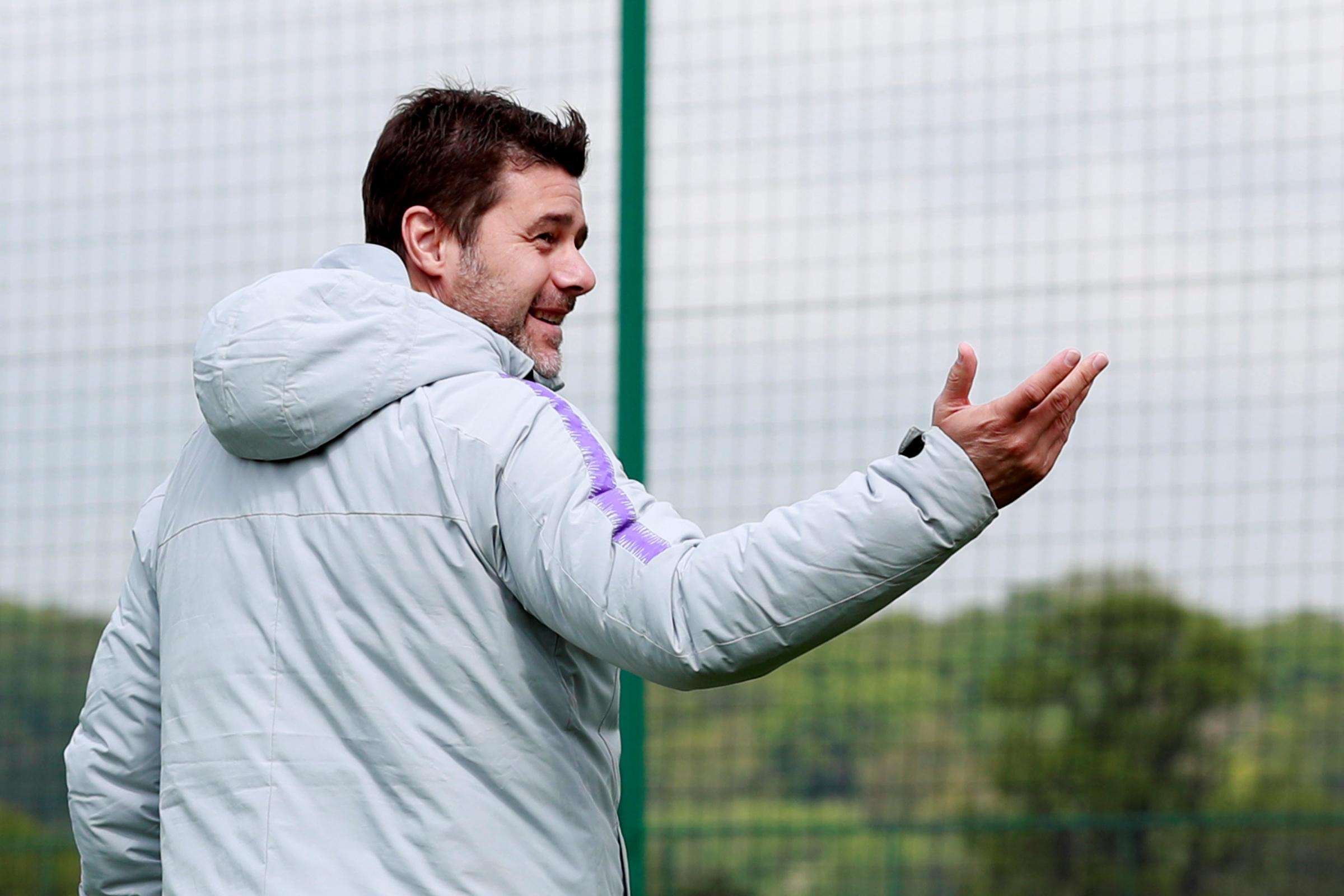 Mauricio Pochettino admits he is 'living my dream'. Picture: Action Images