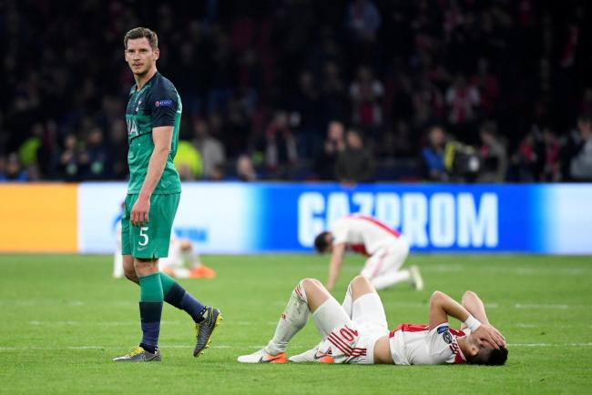 Mauricio Pochettino is hopeful Jan Vertonghen's injury 'is not a big problem'. Picture: Action Images