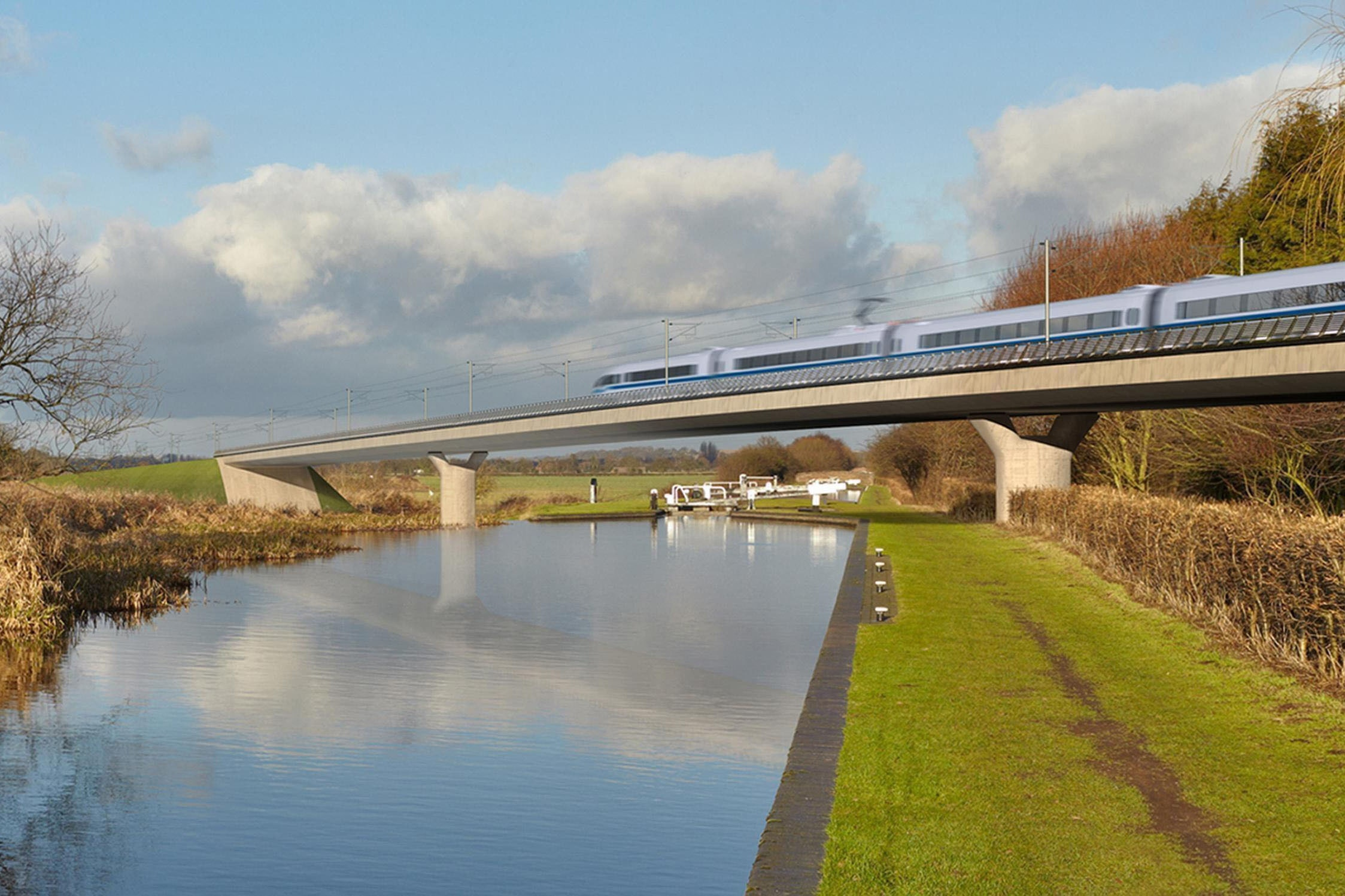 HS2 is due to open in 2026 ( HS2/PA)
