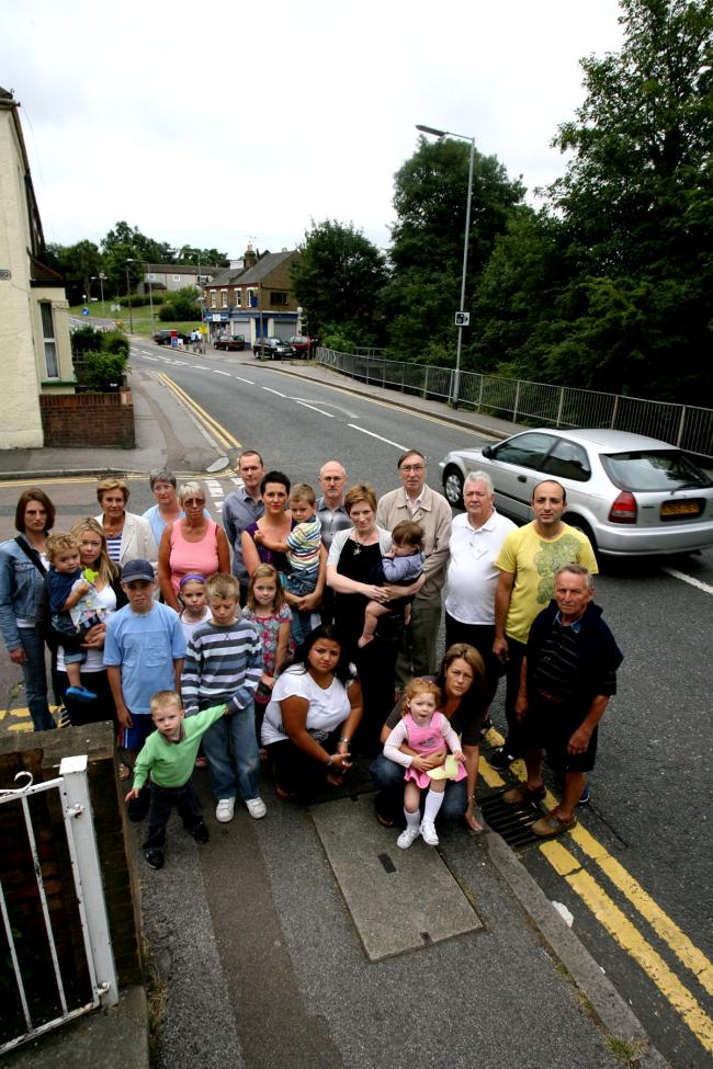 Residents of Honey Lane say they're fed up with speeding drivers