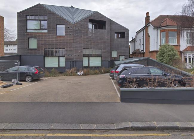 The unusual looking building is due to be pulled down [image courtesy of Google Maps]