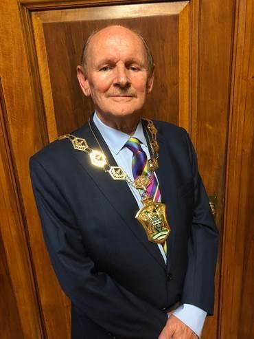 Cllr Chris Robbins will be mayor for the year 2019-2020 [image courtesy of Waltham Forest Council]