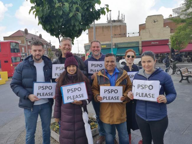Councillors and residents have been calling for a PSPO in the area for months [image courtesy of Cllr Seesunkur]