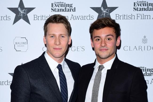 Tom Daley and Dustin Lance Black File Photo