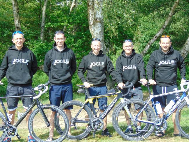 The team from Epping Forest and Harlow are riding from John O'Groats to Land's End in aid of the charity Campaign Against Living Miserably