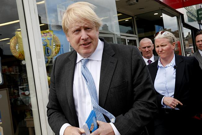 Polls suggest Boris Johnson is the party favourite and could become the new PM. Photo: Holly Cant